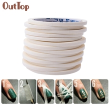 17m*0.5cm French Style Manicure Nail Art Tips Creative Nail Stickers Tape Decor 0324B