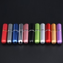 MUB  5ml  Refillable Portable Mini perfume bottle &Traveler Aluminum Spray  Atomizer Empty Parfum bottle