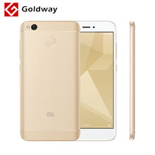 "Original Xiaomi Redmi 4X Pro Prime 4 X Mobile Phone 4GB RAM 64GB ROM Snapdragon 435 Octa Core 5.0"" HD 4G LTE 13MP 4100mAh"