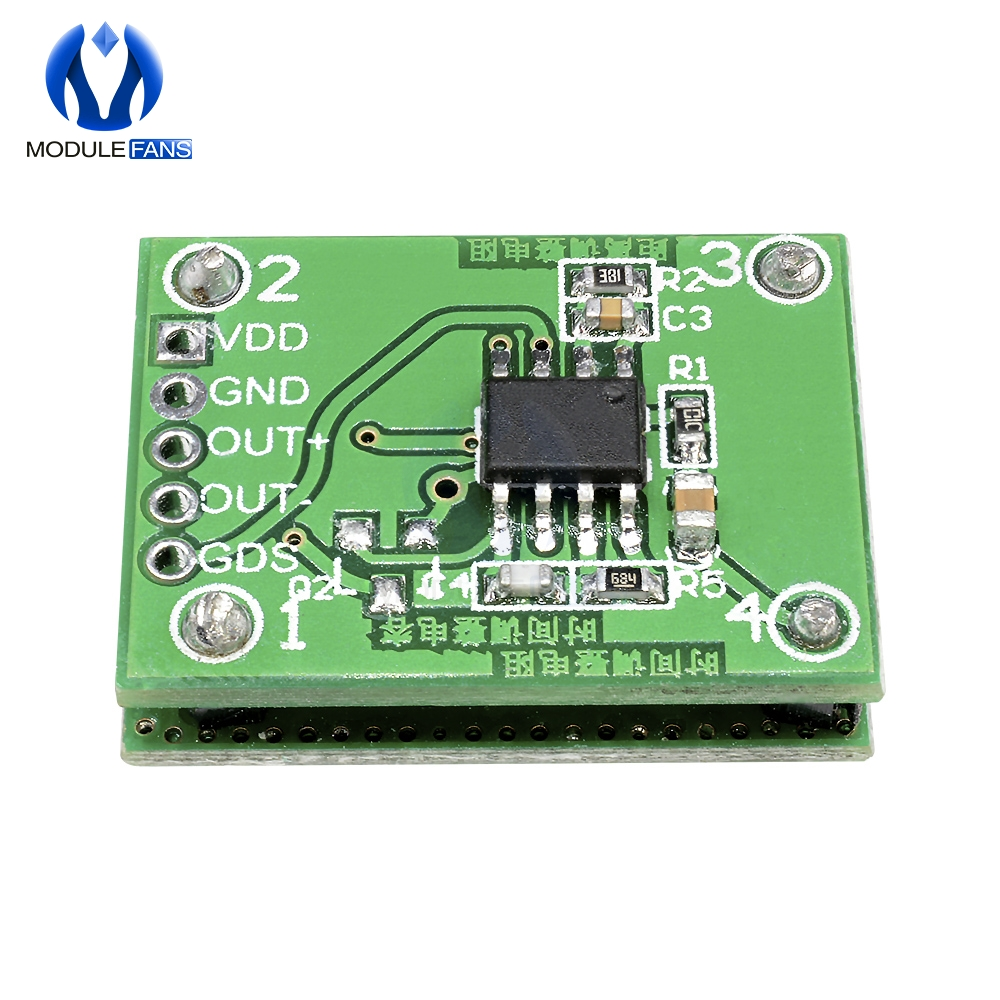 1PCS 5.8GHZ Dc Microwave Radar Sensor 6-9M Smart Switch Double Layer For ur
