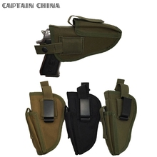 Military Tactical Hand Gun Pistol Holster Left Hand or Right Hand Shooting Gun Holster fits for Glock 17 19 22 23