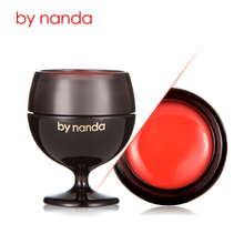 Bottle of Red Wine Lip Balm Ball Round Pomade Fruity Jelly Moisturize Cola Lipstick Wine Glass Nourish Care Plant Extract Make u(China)