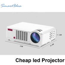 2016  low cost LED home theatre projector full hd lcd beamer support 1080P 3d game video cinema projectors very good performance