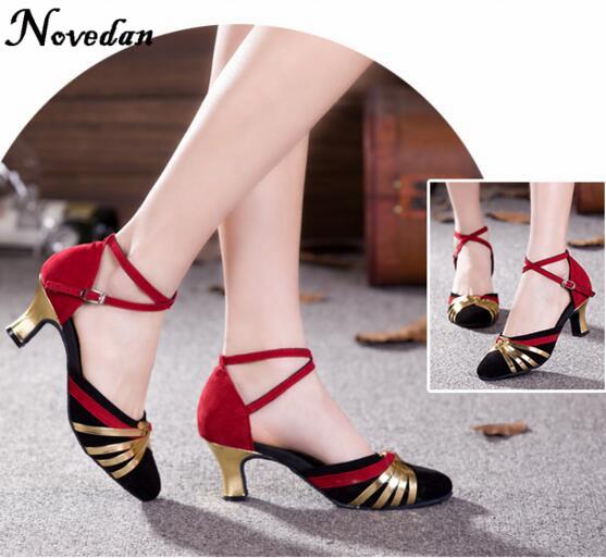 DB24225 closed toe latin salsa dance shoes-3_
