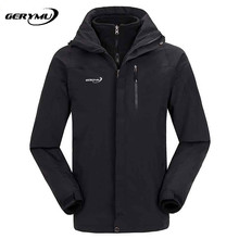 Men Winter Outdoor Ski  warm Soft Shell Waterproof Windstopper Jackets  Camping Hiking Huntingclimbing sport Leisure clothes