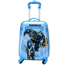 16'' 18'' Boys Transformer Rolling Luggage/Children Cartoon Travel Suitcase/Hardside Trolley Case/Superhero School Bag On Wheels