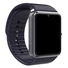 DHL 2018 Новые смарт-часы GT08 Bluetooth подключиться к IOS iphone 6/6 + Android телефон Smartwatch A8 LF07 GV18 наручные sim-карты(China)