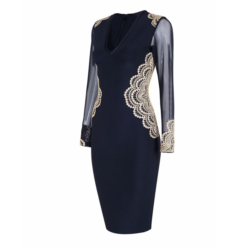 2018-seamyla-black-mesh-bandage-dress-women-(3)