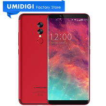 "Global Version UMIDIGI S2 Full Screen 6.0"" Cell Phone Black Red 5100mAh Long Standby Battery 1440*720P New Mobile Phone(China)"