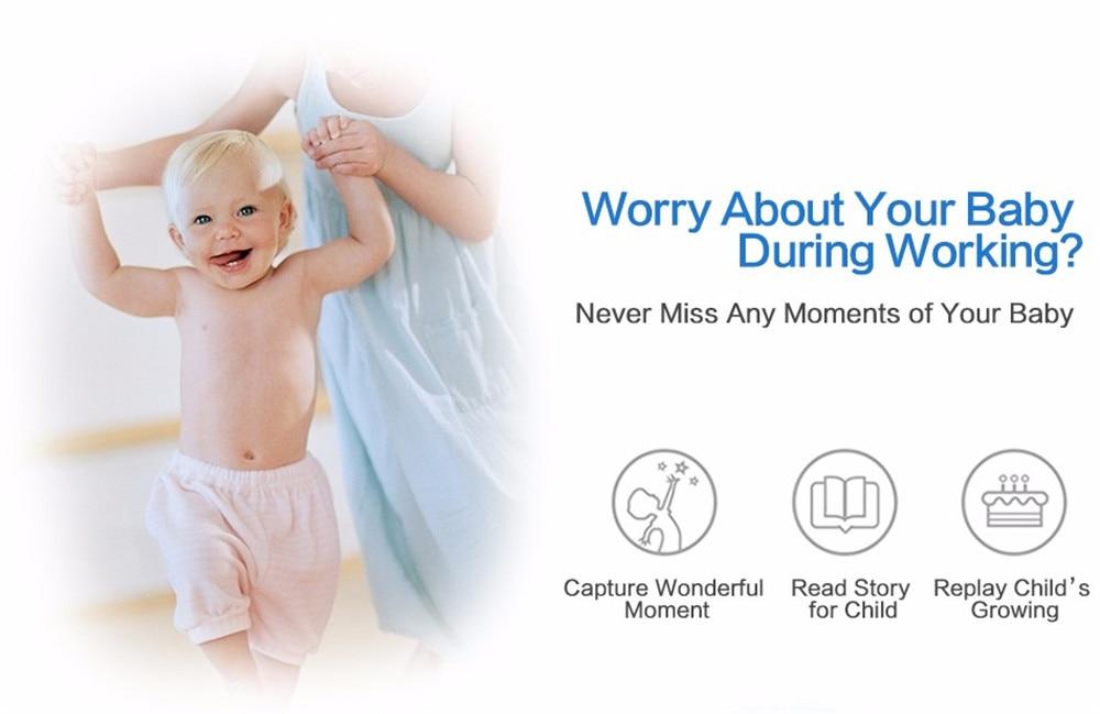 Wistino 720P Wireless IP Camera Motion Detection Home Baby Monitor IR Night Vision WiFi Camera Alarm Onvif Surveillance Security (5)