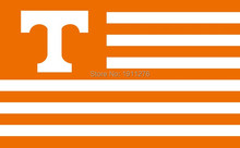 The University of tennessee Volunteers NCAA Flag hot sell goods 3X5FT 150X90CM Banner brass metal holes