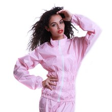 Women Coat Losing Weight Clothes Sweating Waterproof  Sauna Sport Fitness Lose Weight Slimming Cold-proof