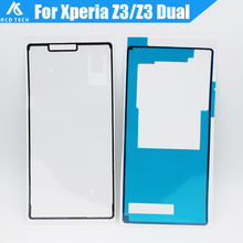 Waterproof Adhesive For SONY Xperia Z3 D6603 D6653 D6633 Front Lcd Sticker Back Cover Adhesive Full Set Tape Glue