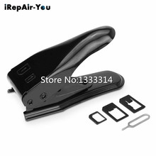 iRepair-You 2 in1 Micro & Nano Sim Card Metal Cutter for iPhone SIM Adapter Eject Pin(China)