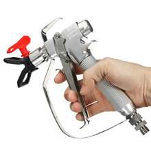 High Quality 1PC 4000PSI Airless Paint Spray Gun Kit With 517 Nozzle Guard For Graco Titan Wagner Best Price(China)