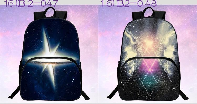 حقائب مدرسية / الكون / الفضاء/ 24 لوان للبنات 11