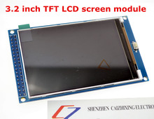 Free shipping! 3.2 inch TFT LCD screen module Ultra HD 320X480 for Arduino MEGA 2560 R3 Board(China)