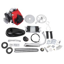 "(Shiping from US) 49cc 4  Stroke Bicycle Gas Engine Motor Motorized Petrol Gas Scooter Engine kit  For 26"" 28 "" Bike"