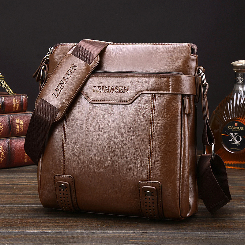 2017 New Fashion leather Men Messenger Bags WaterProof Multifunctional Hot Sale men shouler bag Famous Brand Hot Men Bag<br><br>Aliexpress