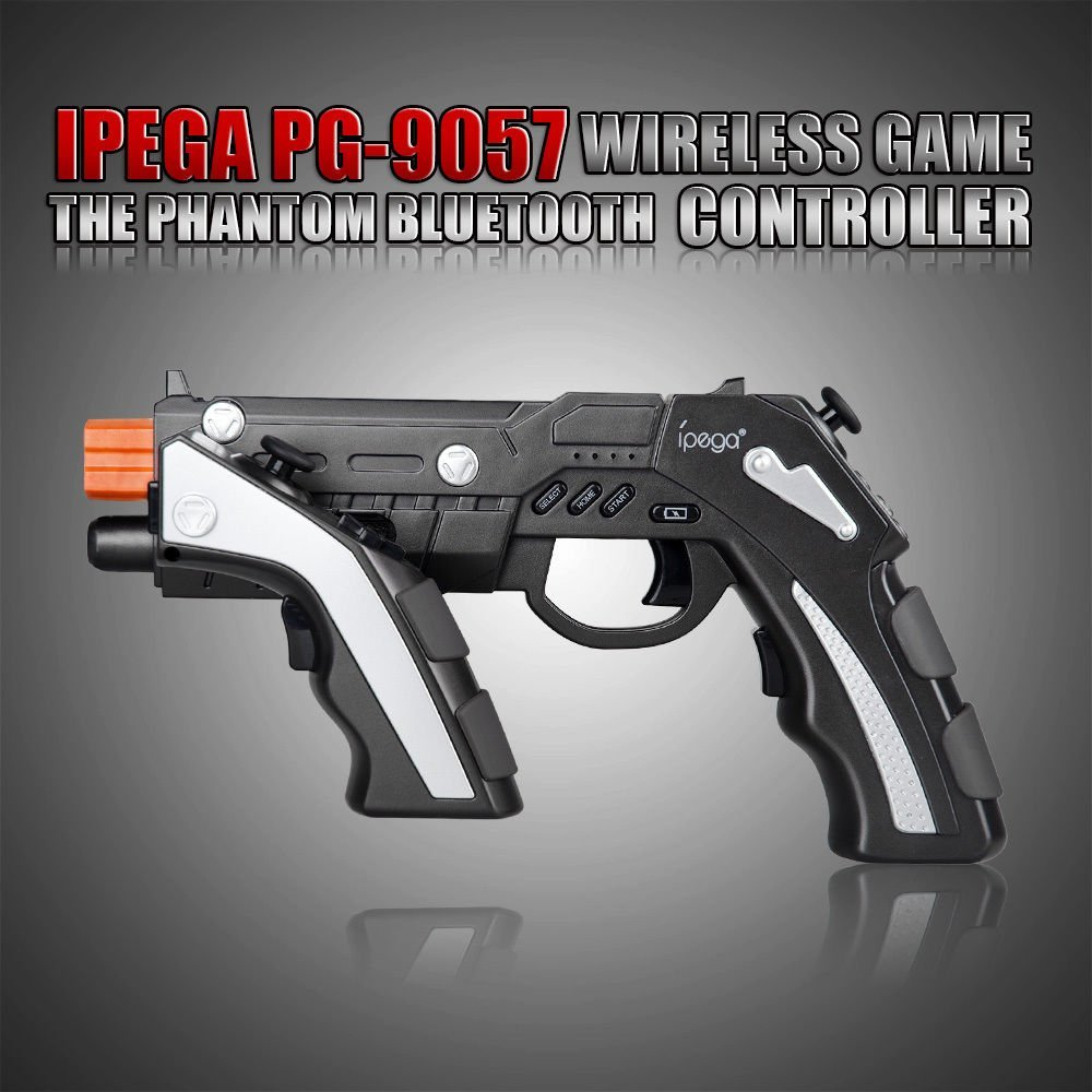 Ipega PG-9057 Bluetooth Wireless Game Controller Gun  (2)