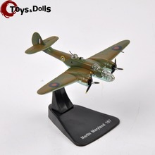 1:144 Diecast Aircraft Airplane Model World War II RAF Martin Maryland 169 4646116 Fighter Model Airplane Kids Toys Gifts(China)