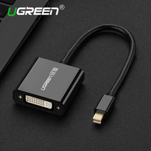 Ugreen Thunderbolt Mini Displayport DP to DVI Active Adapter Cable 1080P Mini DP to DVI Converter for Video HDTV PC Macbook Air(China)