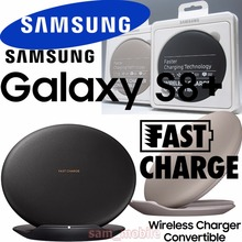 Original Wireless Charger Fast Charging Pad with Ventilator For Samsung GALAXY S8 S8+ plus SM-G9500 G9550 EP-PG950