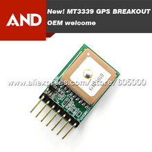 Free shipping 5pcs/lot,DHL/EMS MTK3339 Evaluation board,Gms-hpr module,Enable pin to shutdown the module.Gift Dupont Line