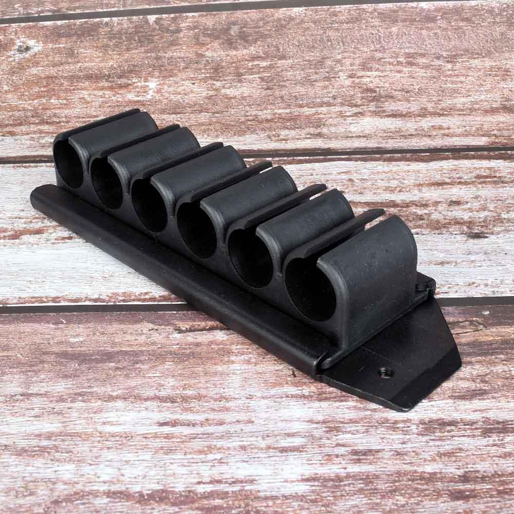 Mossberg 500 12 Gauge Side Saddle Tactical Shotgun 6 Shell Holder Quick Detach !