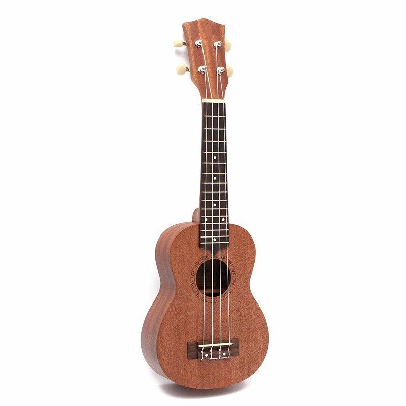 21 inch 15 Frets Sapele Ukulele Guitar Uke Musical Instrument Guitar Semi-closed Rosewood Fingerboard 4 Strings Hawaiian Guitar<br><br>Aliexpress