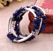 Fashion accessories natural stone Women elastic bracelet Factory Wholesale(China)