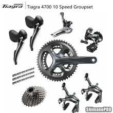 Shimano Tiagra 4700 2x10 Speed 10s Groupset road bike bicycle groupset Bicycle Parts(China)