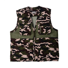 Adjustable Fly Fishing Vest Backpack MultiPocket High Quality Best Price Outdoor Sports Outerwear Vest Army Green Fish Accessory(China)