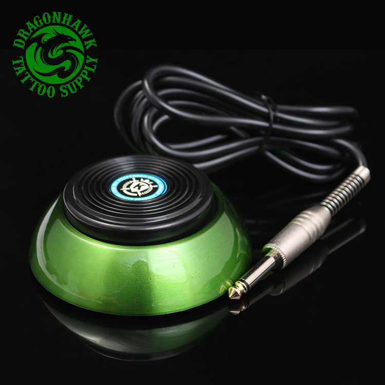 High Quality Professional 360 Tattoo Foot Pedal For Power Supply Set Green<br>
