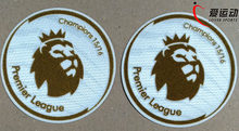 NEW EPL champion patch Premier League Golden soccer patch Leicester city 1617 game soccer Badges free shipping(China)