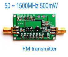 RF power amplifier FM transmitter Broadband RF amplifier 50 ~ 1500MHz 500mW Operating voltage: 3 ~ 9v