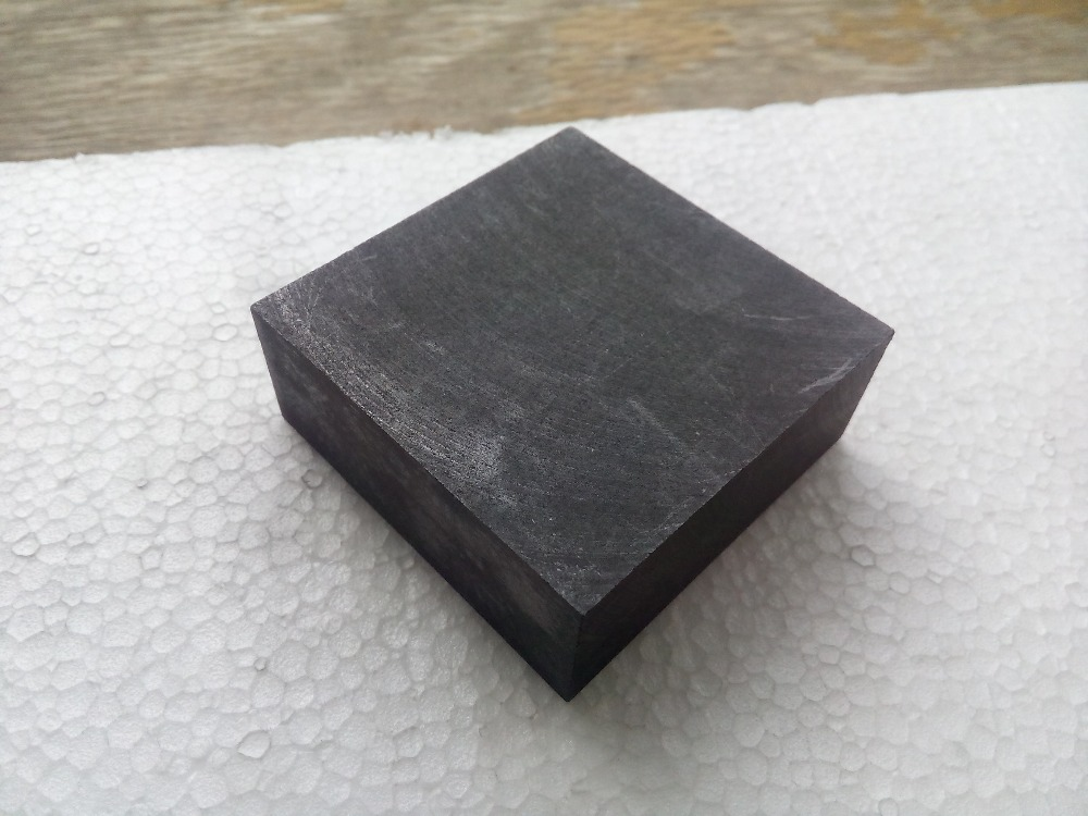 100x100x45mm high strength graphite plate for industry<br>