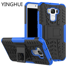 Hybrid TPU Armor Silicone Rubber Hard Case Asus Zenfone 3 Max ZC553KL Hard Back Cover Impact Case for Asus Zenfone 3 Max ZC553KL(China)