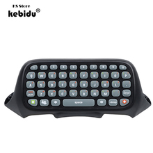 kebidu 2017 Newest Style Wireless Chatpad Messenger Keyboard Keypad for XBOX 360 Controller High Quality wholesale(China)