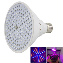 126 leds led Plant Grow light lamp E27 SMD 3528 growing lights 220V hydroponics green house bulb for flower vegetable lighting