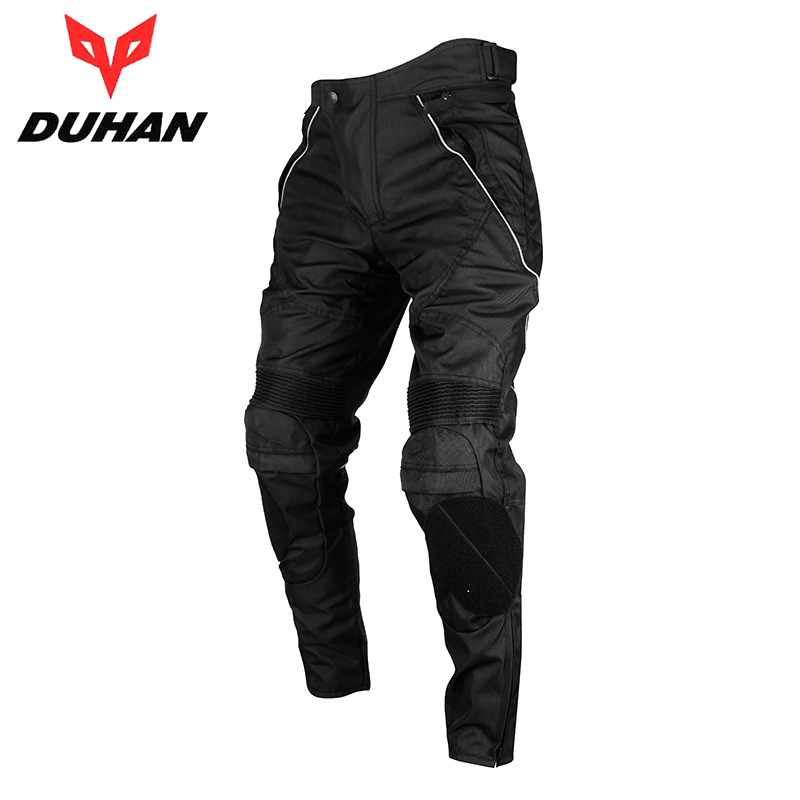 DUHAN Mens Waterproof Motocross Riding Sports Pants with Removable Protector Guards Street Racing Windproof Motorcycle Trousers<br><br>Aliexpress