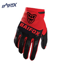 BAIFOX Brand 2017 Motocross Gloves Racing off road Bicycle Cycling Motorcycle Gloves Road Mountain Bike Moto Gloves Free gift