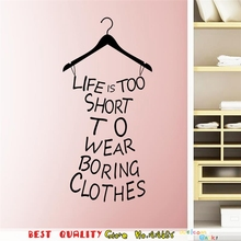 Clothes Tree Wall Stickers Wardrobe Decorations House Ornaments 3D Diy Home Decals Vinyl Wall Art Room Decor Mural Posters