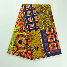 2017 super wax hollandais wax fabric african print fabric batik 100% cotton african 6 yards of african fabric wholesale