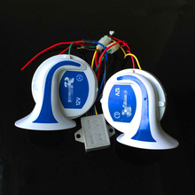 Super Loud Air Snail Horn 8 Sounds Digital Electric Siren for all 12 V Cars Trucks Motorcycles Vehicles. Your Best Choice