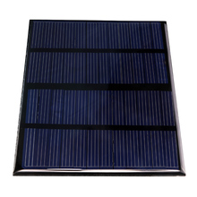 12V 1.5W Epoxy Solar Panels Mini Solar Cells Polycrystalline Silicon Solar DIY Solar Module 115x85mm