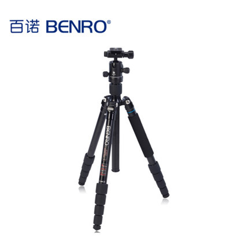 Benro A1292TB0 Professional Tripod Set With Head For Nikon Canon Sony Olympus Camera Aluminum Alloy Tripod High Performance(China)