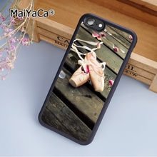 MaiYaCa Ballet Ballerina Dancer Shoes fashion soft mobile cell Phone Case Cover For iPhone 5 5S SE Custom DIY cases luxury shell(China)