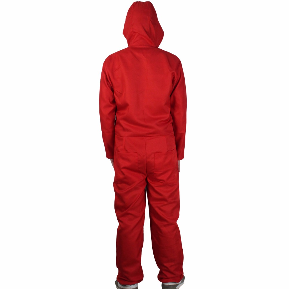 Salvador Dali Movie Costume Cosplay Money Heist The House of Paper La Casa De Papel Cosplay Costumes+Face Mask5