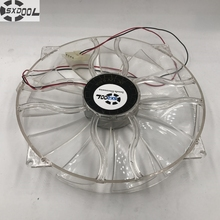 New SXDOOL GP D22SL-12H 12V 0.6A 22cm chassis fan Quiet side of the chassis big fan 22cm diameter(China)